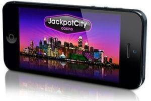 Play all top rated casino games on your mobile device at JackpotCity Casino