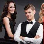 Enjoy a top class Live Casino when playing at Royal Panda Casino
