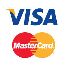 Deposit and withdraw with Visa or Mastercard as payment method