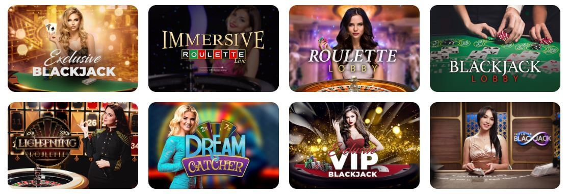 Try out a premium live casino with Indian dealers at Casino Joy