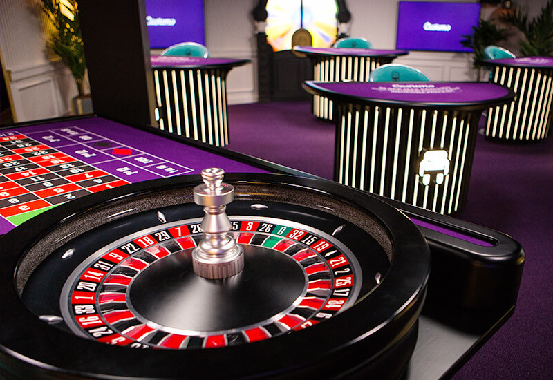 Enjoy a large selection of table games at Casumo Live Casino