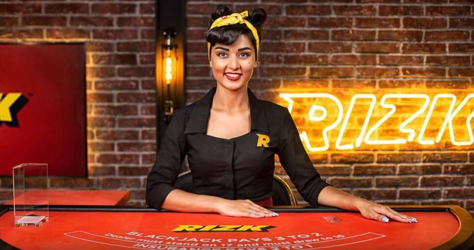 Enjoy a premium live casino at Rizk Casino India!