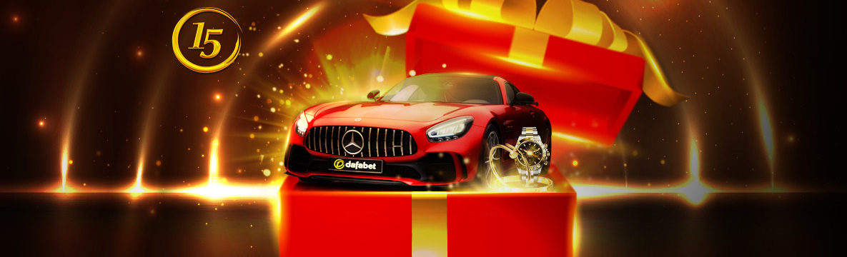 Participate in the 15th anniversary celebrations at Dafabet Casino