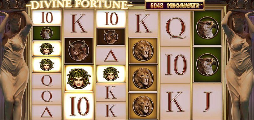 Divine Fortune Megaways Screenshot
